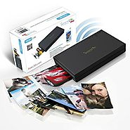 SereneLife Portable Instant Mobile Photo Printer - Wireless Color Picture Printing from Apple iPhone, iPad or Android...