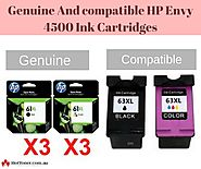 Avail The Best Deals on HP Envy 4500 ink Cartridges Exclusively At Hot Toner