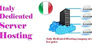 Italy Dedicated Server Hosting Provider