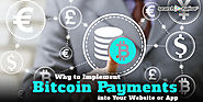 Why to Implement Bitcoin Payments into Your Website & App | SearchNative