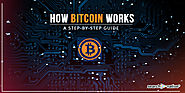 [Infographic] How Bitcoin Works: A Step-by-Step Guide | SearchNative