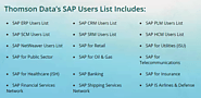 Sap Customer Lists