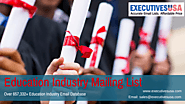 Protect Your Sender Reputation by using ExecutiveUSA's Education Industry Mailing List
