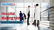 How You Can Own Hospital Email Address List