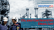 Tending Oil and Gas Industry Email List from ExecutivesUSA
