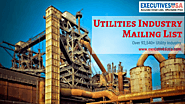 ExecutivesUSA Utilities Industry Mailing List for your promotional campaigns – ExecutivesUSA