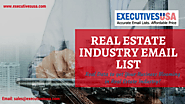 Gain Superior Results on Your Marketing Campaigns with ExecutivesUSA's Real Estate Agent Lists – ExecutivesUSA