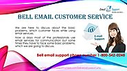 Dial bell phone number for email support