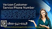 Contact Verizon email technical support phone number