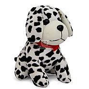 Order Cute Puppy Soft Toy Online Same Day Delivery - OyeGifts.com