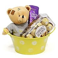 Buy Chocolaty Tub Online Same Day Delivery - OyeGifts.com
