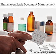 Pharmaceuticals Document Management System by ContCentric