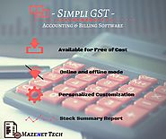 GST Billing Software for Free Download