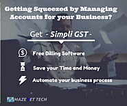 Get the Free GST Billing Software for your Business and Save your Money & Time - Simpli GST