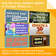 Drop Down Shadows in Slides