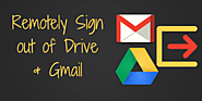 Remotely Sign Out from Gmail & Google Drive | Teaching Forward