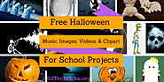 Free Halloween Music, Images, Video, and Clipart for School Projects