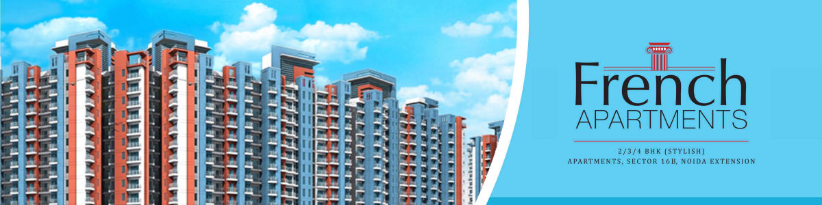 Headline for Buy French Apartments, Residential Flats at Affordable Rate in Noida Extension