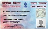 Apply PAN Card Online New Pan Card Registration - PAN Card