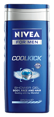 Cool Kick | Icy Cool Shower Gel For Men - NIVEA MEN