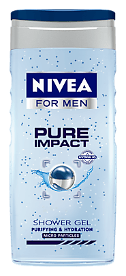 Pure Impact | Purifying Shower Gel For Men - NIVEA MEN