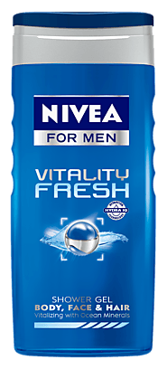 Vitality Fresh | Vitalizing Shower Gel For Men - NIVEA MEN