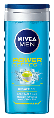 Power Refresh | Refreshing Shower Gel For Men - NIVEA MEN