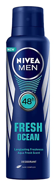 Fresh Ocean | Deodorant Body Spray For Men - NIVEA MEN