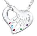 Grandmother Necklace with Names