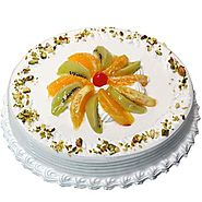 Order/Send Delectable Fruit Cake Online - YuvaFlowers.com