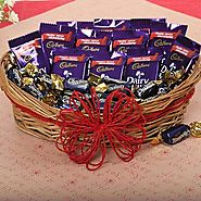 Buy/Send Loaded With Chocolates - YuvaFlowers