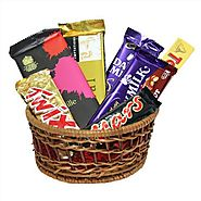 Buy/Send Choco Delight special Hamper - YuvaFlowers