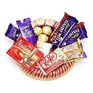 Buy/Send Basket of chocolates - YuvaFlowers