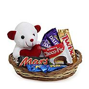 Send Basket of Love Same Day Delivery - OyeGifts