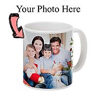 Send Personalized Photo Mug Online Same Day Delivery - OyeGifts.com