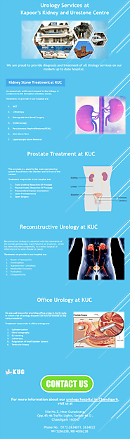 Best Urology doctors in Chandigarh @ KUC