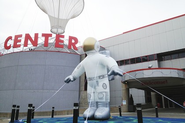 Carnegie Science Center Uses Inflatable Character to Promote Space Exhibit