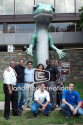 Landmark Creations - GEICO Inflatable Gecko Mascot