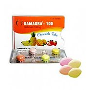 Kamagra 100 mg Chewable Tablets Buy Online, UK, USA - $1.00