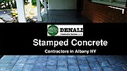 Stamped Concrete Services - Denali Construction