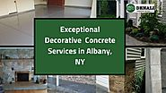 Perfect Decorative Concrete Overlay Solutions