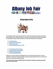 The Albany Job Fair Attendee Info