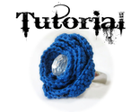Crochet Rose Ring Photo Tutorial