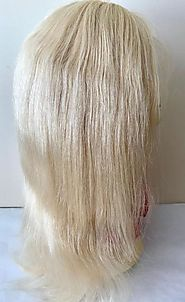 Front Lace Wigs- Natural wave -Color 613 Platinum Blonde – Prarvi Hair