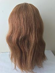 Full Lace Wigs- Natural Wave (Brown#8) Mono Top – Prarvi Hair