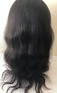 Front Lace Wig-Natural Wavy(Net Base) – Prarvi Hair