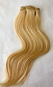 Blonde Hair Extensions| Natural Human Hair Extensions – Prarvi Hair