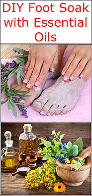 DIY Foot Soak with Essential Oils | Listerine Foot Soak