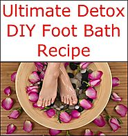 Ultimate Detox DIY Foot Bath Recipe | Listerine Foot Soak