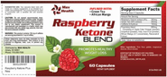 Raspberry Ketones Plus - Dr Oz Recommended Diet Supplements - Weight Loss Pills - Max Fresh Fat Burner Benefits - the...
